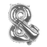 Boland ballon leesteken & zilver 36 cm