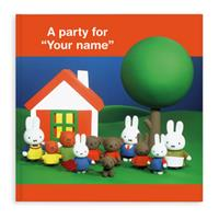 YourSurprise Boek met naam - Miffy a party for... (Engelstalig) (Softcover)