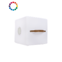 Nikki.Amsterdam Multicolor Kubus & Bluetooth Speaker Lamp