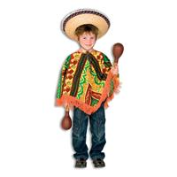 Coppens Mexicaanse Poncho op=op