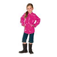 Coppens Ruche Blouse Pink