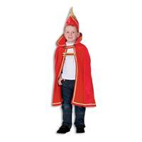 Coppens Prinsencape Fluweel Rood
