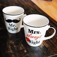 Outoftheblue Mr. & Mrs. Right mokken
