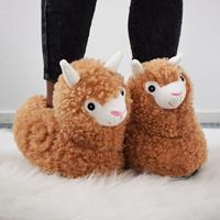 Alpaca Pantoffels - voor Volwassenen