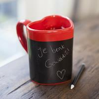 Love Heart Message Mug