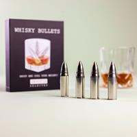 invotis Whisky Bullets ijskogels (set van 4)