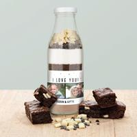 YourSurprise Bakmix in fles - Double chocolate brownies