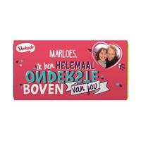 YourSurprise Verkade chocoladereep - Ondersteboven (Hazelnoot)
