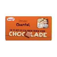 YourSurprise Verkade chocoladereep - Zomaar (Hazelnoot)