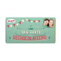 YourSurprise Verkade chocoladereep - Van harte (Hazelnoot)