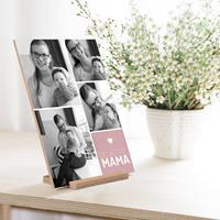YourSurprise Houten Moederdag kaart - Verticaal