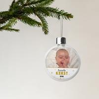 YourSurprise Baby kerstbal - Transparant (2 stuks)