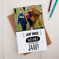 YourSurprise Juf / Meester notitieboekje - A5 - Hardcover