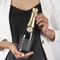 YourSurprise Champagne met bedrukt etiket - René Schloesser (375ml)