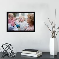 Glazen fotolijst - Zwart - 30x21