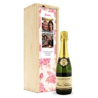 YourSurprise Champagne in bedrukte kist - René Schloesser (375ml)