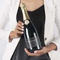 YourSurprise Champagne met bedrukt etiket - René Schloesser (750ml)