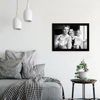 Glazen fotolijst - Zwart - 40x30