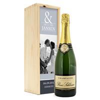 YourSurprise Champagne in bedrukte kist - René Schloesser (750ml)