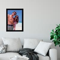 Glazen fotolijst - Zwart - 30x40