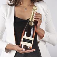 YourSurprise Champagne met bedrukt etiket - René Schloesser rosé (750ml)