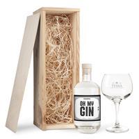YourSurprise Gin cadeaupakket met glas - own brand