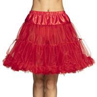 Toppers - Rode petticoat voor dames