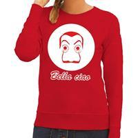 Shoppartners Rode Salvador Dali sweater voor dames