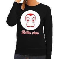 Shoppartners Zwarte Salvador Dali sweater voor dames