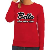Shoppartners Rode Bella Ciao sweater voor dames
