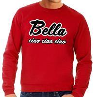 Shoppartners Rode Bella Ciao sweater voor heren