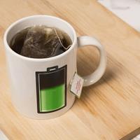 Warmtegevoelige mok Batterij
