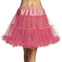 Roze petticoat voor dames