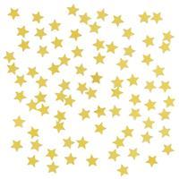 3 x stuks gouden sterren confetti zakjes 15 gram Goudkleurig