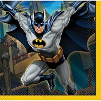 16x Batman themafeest servetten 25 x 25 cm Multi