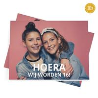 YourSurprise Wenskaarten met foto - 10 dubbele kaarten