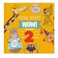 YourSurprise Kinderboek met naam - Wow, je bent 2! - Softcover
