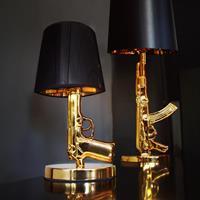 Mikamax Golden Gun Lamp Replica - Pistool