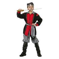 Coppens Piraat zwart/wit streep