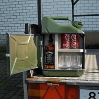Mikamax Jerrycan Minibar - 10 liter - Zwart