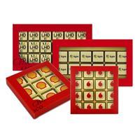 Gefelicitaart Chocologo vanaf 10-doosjes