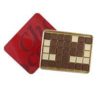 Gefelicitaart Ingeblikt Choco telegram