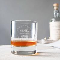 YourSurprise Vaderdag whiskey glas