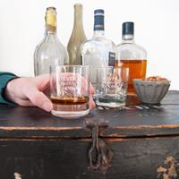 YourSurprise Vaderdag whiskey glazen - Set van 2