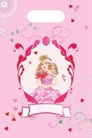 Uitdeelzakjes Prinses 8 stuks