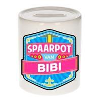 Kinder spaarpot voor Bibi - keramiek - naam spaarpotten