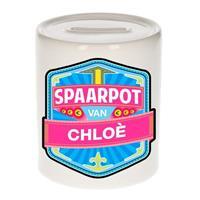 Kinder spaarpot voor Chlo? - keramiek - naam spaarpotten