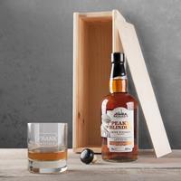 YourSurprise Peaky Blinders whiskeypakket - met gegraveerd glas