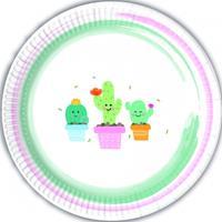Procos Bordjes cactussen pastel kleuren