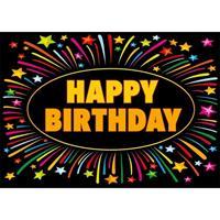 Shoppartners 5x Verjaardag wenskaart Happy Birthday Multi